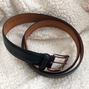 Cole Haan black leather belt